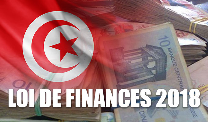 Loi de finances 2018 en tunisie